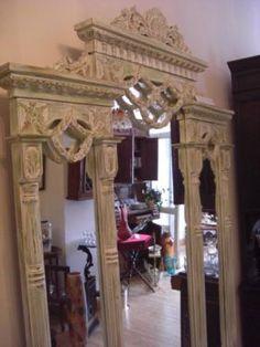 schminktisch inkl hocker kosmetiktisch frisiertisch frisierkommode wei braun in m bel. Black Bedroom Furniture Sets. Home Design Ideas