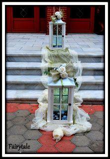 Είδη Γάμου, Κηροπήγια γάμου, Μπομπονιέρες Γάμου, Στολισμοί Γάμων, Στολισμός Τραπεζιού Ladder Decor, Fairy Tales, Decoration, House, Home Decor, Decor, Decoration Home, Room Decor, Fairytale