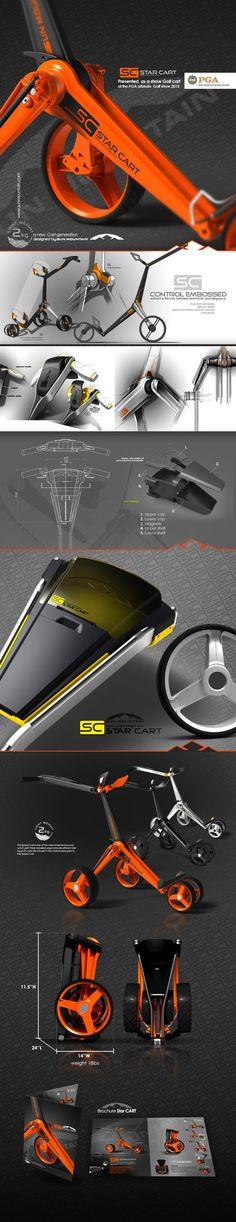 SUN MOUNTAIN Starcart concept on Behance Designed by IOTA Design: