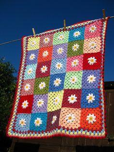 Daisy Baby Blanket | Flickr - Photo Sharing!