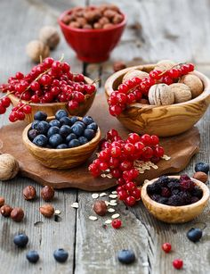 Breakfast with nuts & berries | Flickr