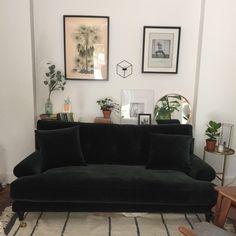 Att Pynta Blanca sofa in emerald, meli meli
