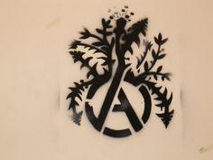 anarchy logo plants