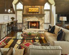 Mountain modern living room