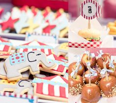 Show us your party – Mattea's vintage carnival birthday