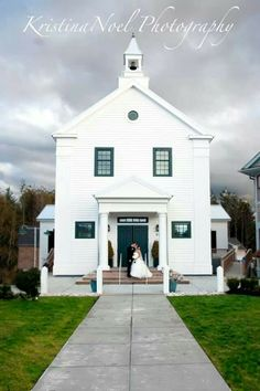 Town hall wedding. Colin and Melinda Black. Congrats!
