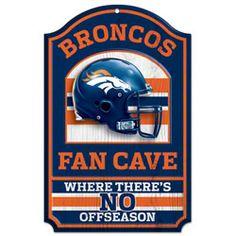 Denver Broncos Fan Cave 11x17 Wood Sign $18.99 http://sportsstore.usatoday.com/Denver-Broncos-Fan-Cave-11x17-Wood-Sign-_-2090017515_PD.html?social=pinterest_pfid47-15467