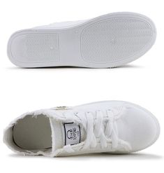Lace-up Superstar Canvas Sneakers – Putshy White Canvas Shoes, Black And White Shoes, Comfy Shoes, Casual Shoes, White Casual Sneakers, Shoe Basket, Denim Shoes, Girls Shoes, Ladies Shoes