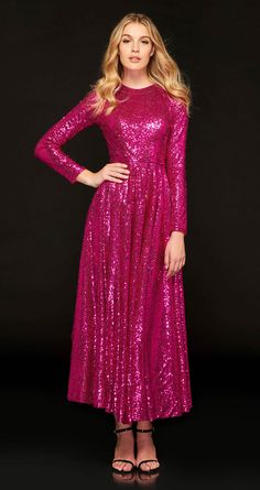 Ericdress A Line Long Sleeve Sequin Reflective Prom Dress – Beauty Coupons Princess Prom Dresses, Sequin Prom Dresses, Best Prom Dresses, Prom Dresses Online, Ball Gown Dresses, Cheap Prom Dresses, Quinceanera Dresses, Evening Dresses, Cheap Gowns