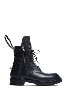 Rick Owens Low Army Boot | LN-CC