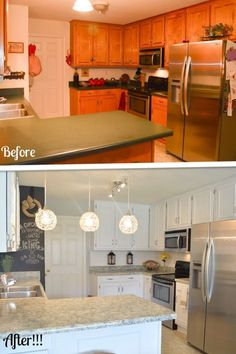Diy Kitchen Makeover In Progress  White Diy Kitchens Kitchens Mesmerizing Cheap Kitchen Remodel Inspiration Design