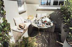 The wraparound veranda