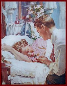 Harry Anderson's Art for Ladies' Home Journal.