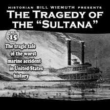 At 2:00 AM, three of the four boilers on the ship exploded.  The ship began to burn, and finally sank, with a loss of approximately 1,800 souls.