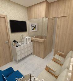 Projeto de Consultório Odontológico. Decoração consultório dentista. Arquitetura hospitalar e clínica / APSP Arquitetos +55 71 9983-5275 / Salvador, BA