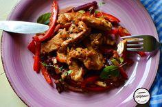 Piept de pui cu sos de bere la tigaie Kung Pao Chicken, Ethnic Recipes, Food, Essen, Meals, Yemek, Eten