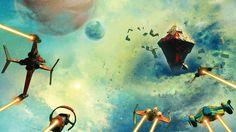 easyLife No Man'S Sky Fantasy Art Concept Science Fiction Poster Custom Home Decoration Photo Poster Prints Inch No Man's Sky, Hello Games, Sky Games, Pop Culture Art, Game Concept Art, Beautiful Posters, Sky Art, Film, Hd Wallpaper