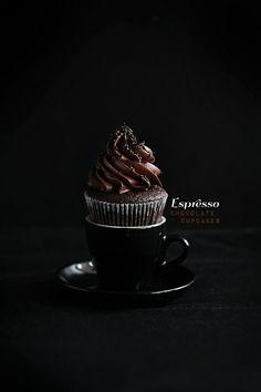 Espresso Chocolate Cupcakes...