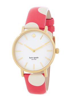 The polka dots on this Kate Spade watch add the perfect touch of whimsy.