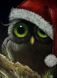 Google Image Result for http://www.ebsqart.com/Art/Gallery/Colored-Pencils-Pastels-Glitter/662910/650/650/FANTASY-OWL-HOLIDAY-1.jpg