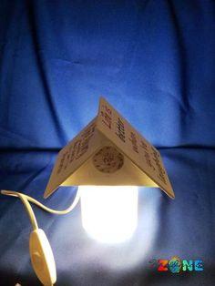 Veioza Home - model mini lampa - HandMadeZone - Vinde si cumpara creatii handmade Lighting, Mini, Handmade, Home Decor, Homemade Home Decor, Hand Made, Craft, Lights, Lightning