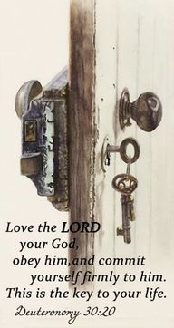 """Love the Lord your God, that you may obey His voice, and that you may cling to Him, for He is your life and the length of your days."" - The Holy Bible, Deuteronomy Art Watercolor, 3d Fantasy, Wow Art, Spiritual Inspiration, Bible Scriptures, Scripture Verses, Word Of God, Holy Spirit, Gods Love"