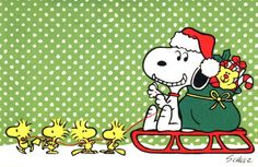 SNOOPY WOODSTOCK~Snoopy Christmas