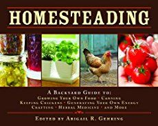 Homesteading skills are sort of a dying art. They used to be handed down naturally from generation to generation and we need to do that more than ever.