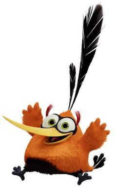 """Bubbles from """"The Angry Birds Movie"""""""