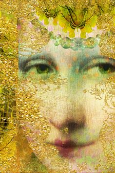Mona Lisa 3 - Images by Itkupilli Collage Artwork, Mixed Media Collage, Apocalypse, Maggie Taylor, Classic Artwork, Illusion Art, Digital Collage, Art And Architecture, Van Gogh