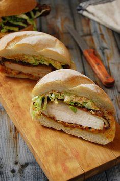 Buttermilk Fried Chicken Sandwich with Chipotle Aioli   kneadforfood.com   #sandwich #fried #recipe