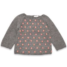 Pull Eugène enfant gris nopes rose laine alpaga Laine Alpaga, Pull Enfant,  Mode Enfant 239bd0c4f92