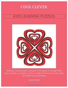 Brilliant Game Book Contains Wordsearch Along With Easy Sudoku as Well as Unscramble Word Genius Puzzles for Little Girls and Boys Games For Little Kids, Games To Play With Kids, Word Search Puzzles, Word Puzzles, Sudoku Puzzles, How To Spell Words, Computer Games For Kids, Teachers Standards, Unscramble Words