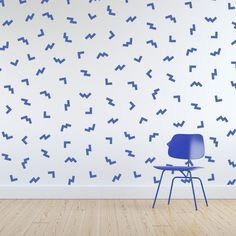 Self Adhesive Wallpaper, Wall Wallpaper, Pattern Wallpaper, Bold Colors, Colours, Mark Making, Abstract Pattern, Wall Murals, Kids Room