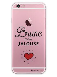 Coque transparente Brune mais jalouse pour iPhone 6 / 6S