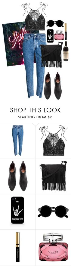 """""""168"""" by lari-z ❤ liked on Polyvore featuring H&M, STELLA McCARTNEY, Cut N' Paste, Samsung, Retrò, Yves Saint Laurent and Gucci"""