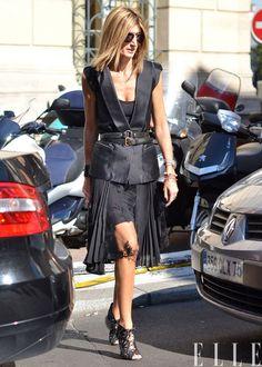 MY FASHION TRICKS: Street style: Sarah Rutson (Fashion director of Lane Crawford)
