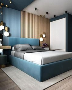 32 Gorgeous Bedroom Sets You Definitely Like - A bed is basically used for sleeping and sometimes for relaxing, working, exercising and reading. There are many styles and types of bedroom sets avai. Bedroom Bed Design, Bedroom Furniture Design, Modern Bedroom Design, Bedroom Sets, Home Decor Bedroom, Home Interior Design, Bedroom Designs, Budget Bedroom, Furniture Layout