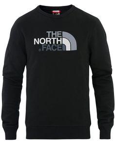 The North Face Drew Peak Crew Neck Sweatshirt Night Green Crew Neck Sweatshirt, T Shirt, The North Face, Sweatshirts, Long Sleeve, Sleeves, Mens Tops, Black, Fashion