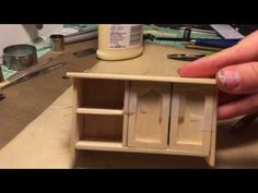 Miniature Dresser Start to Finish (Not a Tutorial) - YouTube