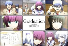 I cried during this episode....one because of when Kanade disappeared and left Otonashi crying and alone (I still cry during that) and the other is because I couldn't believe this amazing anime was ending. ;_;