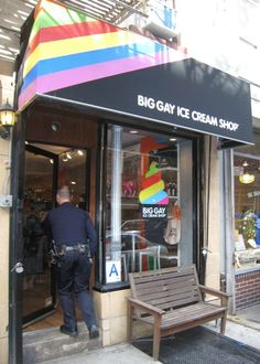 With names like Salty Pimp, Mermaid, and American Glob you know to expect deliciously different concoctions at the Big Gay Ice Cream Shop.