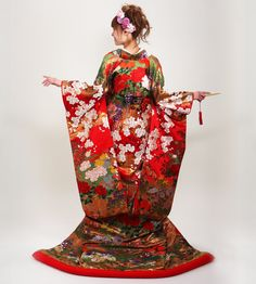 O.M.G. very formal elegant kimono