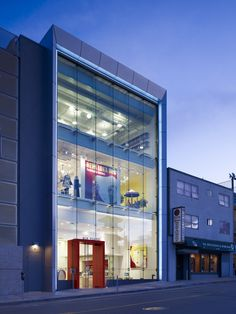 J-Pop Culture Center in San Francisco by Kwan Henmi Architecture and Planning - nice glass facade detail