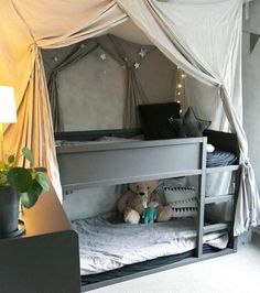 12 Clever IKEA Hacks For Bedroom Styling Ideas and Inspirations Ikea Schlafzimmer Hack 10 Ikea Kids Bedroom, Bedroom Hacks, Bedroom Decor, Kid Bedrooms, Ikea Childrens Bedroom, Ideas For Bedrooms, Ikea Toddler Room, Kids Bedroom Lights, Ikea Baby Room