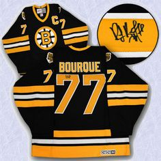 Ray Bourque Boston Bruins Autographed Hockey Jersey