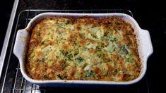 Brokolicový nákyp • recept • bonvivani.sk Slovak Recipes, Quiche, Food And Drink, Breakfast, Fitness, Morning Coffee, Quiches