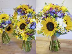 sunflower wedding flowers - Google Search