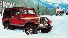 1983 Jeep CJ-7 Laredo. My ultimate Dream Jeep!!!! Mine would be Orange with brown accents.