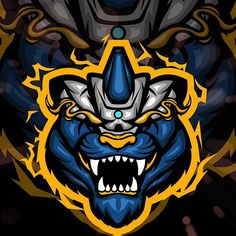 #tigermascot hashtag on Instagram • Photos and Videos Dp Logo, Game Logo Design, Esports Logo, Sports Games, Cool Logo, Logo Templates, Creative Art, Badge, Images